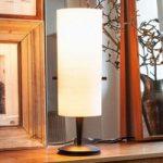 Club – klassisk designer bordlampe af chintz