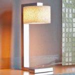 Designer LED bordlampe Reef af skumkeramik