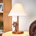 STEERING fremragende bordlampe med træ