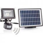 LED-udendørsspot Lennja med solceller og sensor