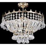 VERSAILLES pompøs krystal-loftlampe