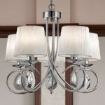 Prægtig hængelampe Angelique 5 lys