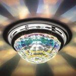 Vega – indbygningslampe til loftet med krystaller