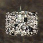 Hængelampe Mosaix med Swarovski-krystaller