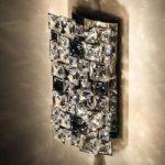 Krystal-væglampe Mosaix af høj kvalitet