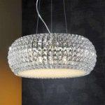 DIAMOND funklende hængelampe rund