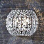 DIAMOND krystalvæglampe