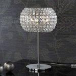 DIAMOND bordlampe med krystaller, 33 cm