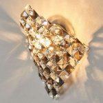 SATÉN anderledes væglampe i krystal 25 cm
