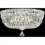 Loftlampe Petit Crystal Deluxe, 36 cm i diameter