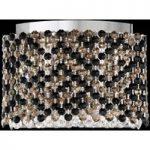 LED-væglampe Refrax med Swarovski-krystaller