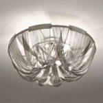 Opulent designer-loftslampe Soscik, 72 cm