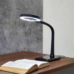 LED-forstørrelseslys Lupo, sort