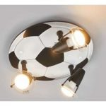 ALEXANDRA FODBOLD loftlampe med tre lys
