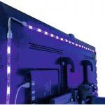 LED-lysstripe sæt Plug and Play til fjernsynet