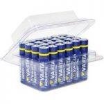 Batterikasse VARTA Micro AAA, 24 stk.