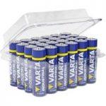 Batterikasse VARTA Mignon AA, 24 stk.