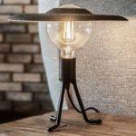 UMAGE Shade bordlampe sort/filt