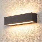 Tilde aflang LED væglampe til udendørs brug – IP65
