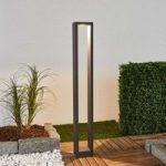 Firkantet LED pullertbelysning Fantino, 90 cm