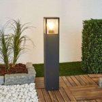 Klemens – firkantet vejlampe i grafitgrå