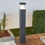 LED pullertbelysning Egon med firkantet lampekrop