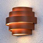 Tiltalende LED væglampe Enisa til udendørs brug