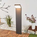 Evelin – LED vejlampe i mørkegrå