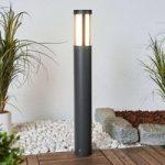 Modern designet LED gadelampe Sidny
