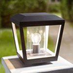 Sokkellampe Dunia med klar skærm
