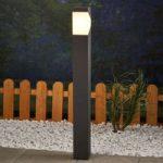Aluminiums LED-vejlampe Kiran