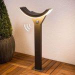 Half: LED-gadelampe med bevægelsessensor