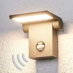 Marius – sensor udendørsvæglampe m. LED´er