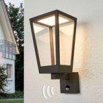 Chaja – bevægelsessensor væglampe lanterneform