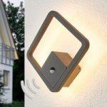 Donato – bevægelsessensor LED udendørs væglampe