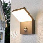 Yolena – LED udendørs væglampe med sensor