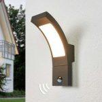 Sensor udendørs væglampe Juvia med LED'er
