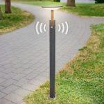 LED-gadelampe Fenia med bevægelsessensor, 100 cm