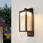 Bevægelsessensor udendørs væglampe Ferdinand, LED