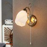 Romantisk væglampe Amedea