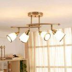 Fortryllende Irma loftslampe m. fire lyskilder