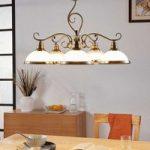 Stilfuld Frieda hængelampe m. fem lyskilder