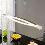 Elina – LED-hængelampe med frostet glasskærm