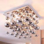 Esfera loftlampe med glaskugler