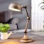 Ellisen – skrivebordslampe i bronze