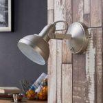 Attraktiv LED spot Tameo, mat nikkel