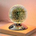 Effektfuld bordlampe Isumi i kugleform