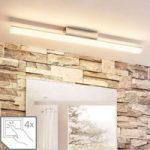 Loftlampe Levke med LED'er til badet, IP44