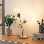 LED-bordlampe Matthea med 2 lyskilder