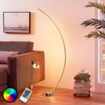 C formet RGB LED-gulvlampe Amaro